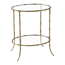 Bamboo Side Table By Arteriors