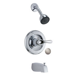 Delta - Delta T13420-SS Classic Monitor 13 Series Tub and Shower Trim (Stainless) - The Classic series brings an assortment of style options to complement any decor you may want in your home.