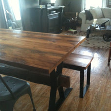 Eclectic Dining Tables by Silver Fox Salvage