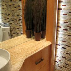 Modern Tile by Lunada Bay Tile