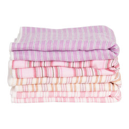 Imabari Towels - I love the bright, cheery nature of these towels from Japan, add a splash of color to your bath.