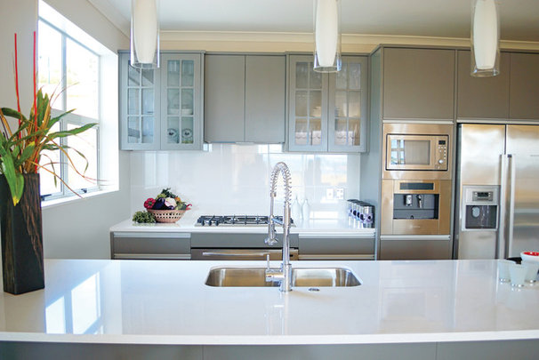 Modern Kitchen Countertops by Elements by Durcon