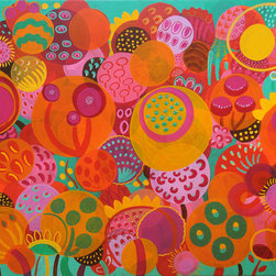 Tropical Seeds, 36 x 48 in -