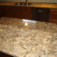 Eclectic Kitchen Countertops by Kitchen & Bath Unlimited