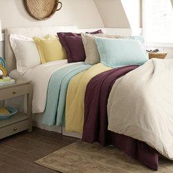 200 GSM Superior Flannel Solid Color Duvet Cover Set -