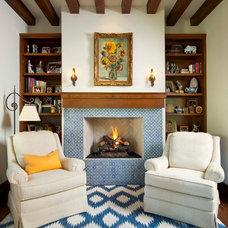 Mediterranean Living Room by Phillip Jennings Custom Homes