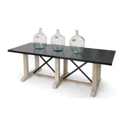 Go Home Ltd - Go Home Ltd Devonshire Dining Table X-87131 - Go Home Ltd Devonshire Dining Table X-87131