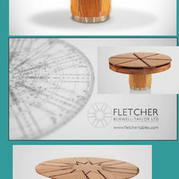 Expandable Round Dining Table - Fletcher Tables