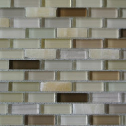 GlassTileStore - Sample- Argos Glass and Stone Tile Sample - Sample Argos Glass and Stone Tile Sample   Samples are intended for color comparison purposes, not installation purposes.    -Glass Tiles -