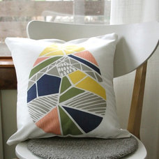 Modern Decorative Pillows by Leah Duncan