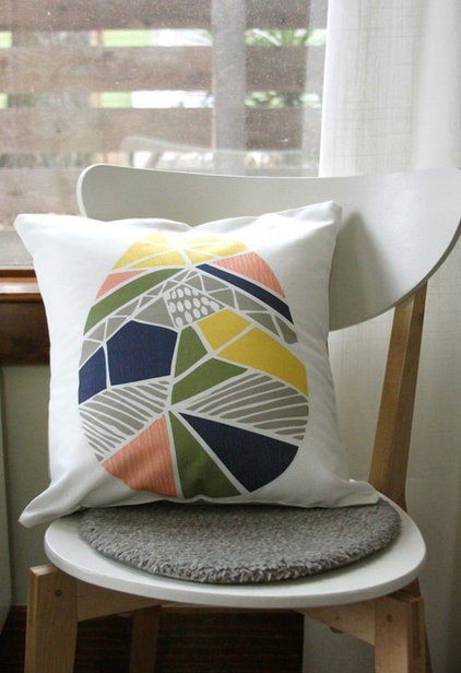 modern pillows by Leah Duncan