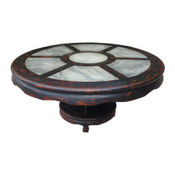 Round Dining Table With Marble 79