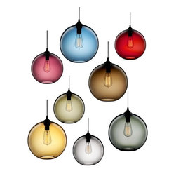 Glass Globe Shade Edison Bulb Suspended Pendant Lighting - Add warmth to your home by hanging this Glass Globe Shade Edison Bulb Suspended Pendant Lighting in your living room,kitchen,or children's bedroom.Once you hang this lamp, you'll start critiquing every other lighting fixture in the house. The light's unique design will change the way you think about illuminating a room.