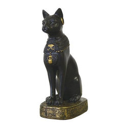 TLT - 3 Inch Hand Painted Small Egyptian Goddess Bastet Resin Statue - This gorgeous 3 Inch Hand Painted Small Egyptian Goddess Bastet Resin Statue has the finest details and highest quality you will find anywhere! 3 Inch Hand Painted Small Egyptian Goddess Bastet Resin Statue is truly remarkable.