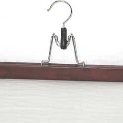 Proman Products Taurus P!ontour Skirt Hanger in Mahogany