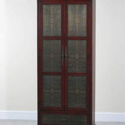 Copper Faced Cupboard - Great solution for pantry storage in a kitchen ...