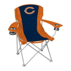 Coleman - Coleman NFL Chicago Bears Deluxe Quad Chair - This NFL Deluxe Quad Chair is oversized for comfort and features two cup holders for convenience. With your favorite team's colors and logo, it's a great way to show your team spirit.