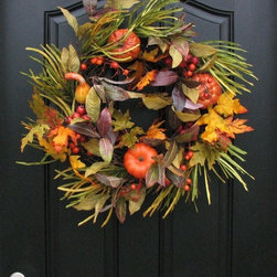 THANKSGIVING WREATHS 2014 - TWOINSPIREYOU