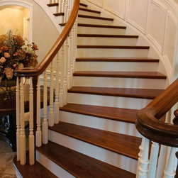 Beautiful Stairs, Staircases and Railings by Stair-Parts.com -