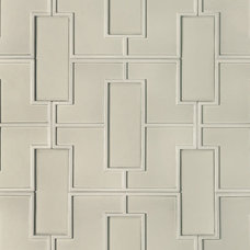 Transitional Tile Fretwork Pattern Decorative Field