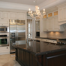 Traditional Kitchen Countertops: Find Butcher Block Countertops and Granite Countertops Online