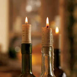 Trattoria Cork Candles - These cork candles are a beautiful way to turn your dinner table into a party-worthy affair.