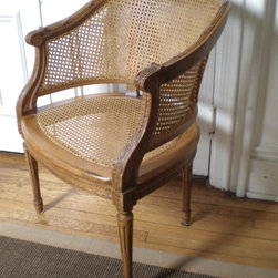 French Bergere Side Chair -