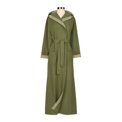 Chic Organic Sage Bathrobe