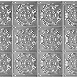 Decorative Ceiling Tiles - Shanko - Stainless Steel - Wall and Ceiling Patterns - #208ss - DecorativeCeilingTiles offers a great selection of backsplashes. Use them in the kitchen, by your grill or anywhere else you'd like to feature an elegant way to protect your walls and show off your home.