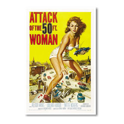 PosterEnvy - Attack of the 50 Ft. Woman - NEW Vintage Movie Poster - Attack of the 50 Ft. Woman - NEW Vintage Film Movie Poster