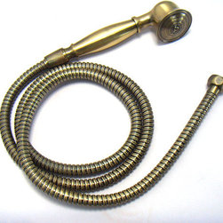 Antique brass bathroom hand held shower head sets - From simple handshower to a luxurious, oversized showerhead ,from drenching rain to cooling mists and invigorating massage sprays ,Streamlined designs, full features, popular finishes and outstanding performance.we have everything you could wish for in a shower.Our shower products provide you with the ultimate in design, functionality and quality,perfectly suited to enhance your lifestyle.