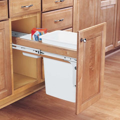 kitchen trash cans by Cornerstone Hardware & Supplies
