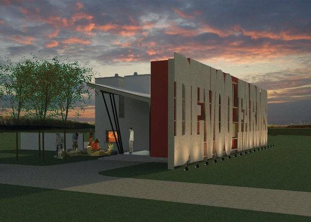 Contemporary  by Sandvold Blanda Architecture + Interiors LLC