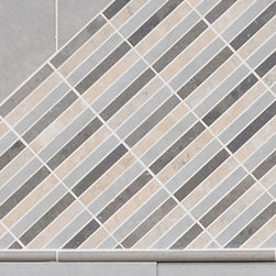 Floor Strip Mosaic - Fiorano Tile Showrooms is a family owned and operated business that has been serving the Long Island / NY Tri-State area  since 1977.