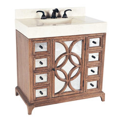 Ambella Home - Ambella Home Sink Chest Contempo White - Product Details