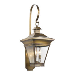 Elk - Outdoor Wall Lantern Reynolds Collection in Solid Brass in a Oiled Rubbed Brass - Outdoor wall lantern Reynolds collection in solid brass in a oiled rubbed brass finish