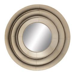 Cool and Distinctive Metal Wall Mirror - Description:
