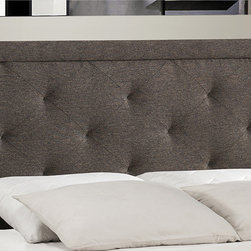 Hillsdale - Becker Headboard - Mature elegance is the hallmark of the Becker Bed. Tall and stately,the Becker's rectangular,pillowed headboard�is available in a variety of finishes to best suit all bedroom aesthetics.
