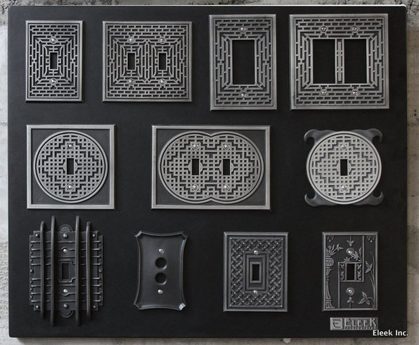 Contemporary Switch Plates And Outlet Covers by Eleek Inc.