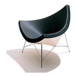 Nelson Coconut Chair | Smart Furniture - The Herman Miller Nelson Coconut chair has a sculptural elegance to it .