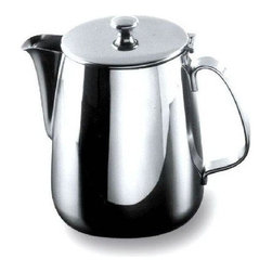 Alessi - Alessi Coffee Pot - Spend breakfast with this classic-looking coffee pot. (You'd swear a diner waiter just brought it over to you.) Its vintage aesthetic blends beautifully on any table, confirming drip coffee has never gone out of style.