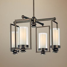 Minka Harvard Court Collection 4-Light Chandelier | LampsPlus.com