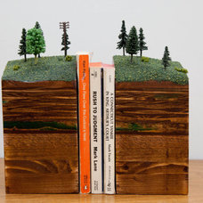 Contemporary Bookends by Etsy