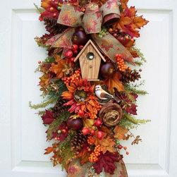 Wreath decor -