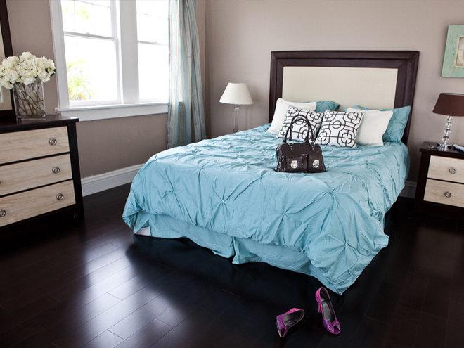 Contemporary Hardwood Flooring by CheaperFloors