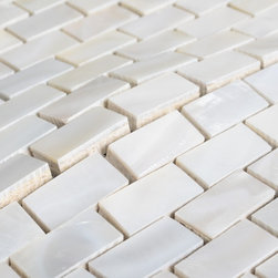 New design Mother of pearl tiles PEM0055 - Collection: Mother of Pearl Tile with base