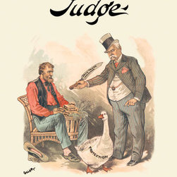 Buyenlarge - Judge: The Goose That Lays the Golden Eggs 20x30 poster - Series: Judge Magazine