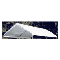 King Canopy - King Canopy 10 x 13 ft. White DrawString Replacement Cover - TDS1013 - Shop for Light Industrial from Hayneedle.com! The polyethylene cover comes with drawstring ends with grommets (for six legs) to keep the sides from flapping in the wind. Comes with a 1 Year Warranty.