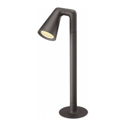 Flos - Flos Belvedere Spot Single F2 Outdoor Light - The Belvedere Spot  Single F2 Outdoor Light was designed by Antonio Citterio for Flos. Device  for exterior lighting with protection degree IP55 thought for  situations that require a strongly detailed light with an adjustable  projector or with lighting areas of a certain size, such as car parks or  external residential areas. Available in stick version or with double  or single head.  Installation on floor through the choice of specific  accessories possible. Discharge lamps G12 35W (excluded). The main  components are made of low-copper-content aluminium alloy on which some  galvanic treatments to protect against saline aggression have been  applied. Other important features are the presence of a watertight box  IP 68, with anti-humidity gel to connect to the power supply, apart from  the watertight cable gland. Insulation class I. Electronic ballast is  included.  Product Details: The Belvedere Spot Single F2 Outdoor Light was designed by Antonio Citterio for Flos. Device for exterior lighting with protection degree IP55 thought for situations that require a strongly detailed light with an adjustable projector or with lighting areas of a certain size, such as car parks or external residential areas. Available in stick version or with double or single head.  Installation on floor through the choice of specific accessories possible. Discharge lamps G12 35W (excluded). The main components are made of low-copper-content aluminium alloy on which some galvanic treatments to protect against saline aggression have been applied. Other important features are the presence of a watertight box IP 68, with anti-humidity gel to connect to the power supply, apart from the watertight cable gland. Insulation class I. Electronic ballast is included.UL LISTED. Details:                                     Manufacturer:                                      Flos                                                                  Design