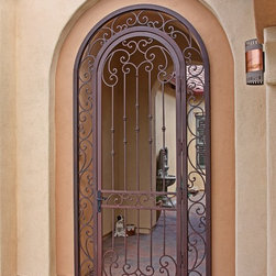 Tuscan Iron Gate by First Impression Security Doors - First Impression Security Doors creates beautiful gates for your home.
